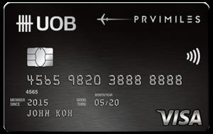 UOB PRVIMILES Visa Card