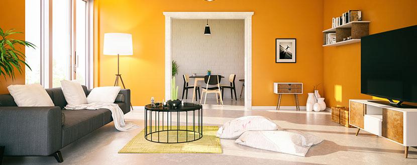 Interior Design of a Living Room -SingSaver
