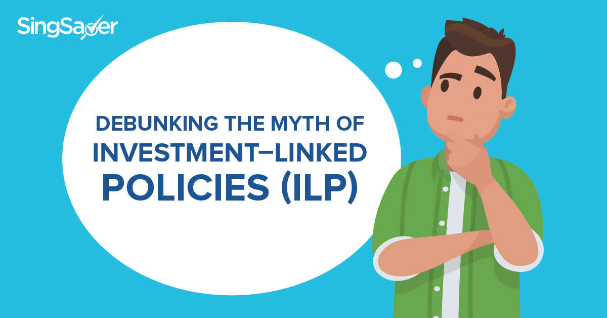 Man thinking about Investment-Linked Policies (ILP)