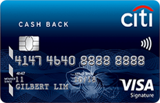 Citibank Cash Back Visa Card - SingSaver