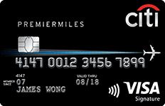 Citi PremierMiles Visa Card - SingSaver