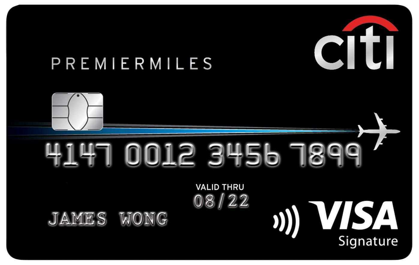 Citi Premier Miles Credit Card