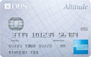 DBS Altitude Card
