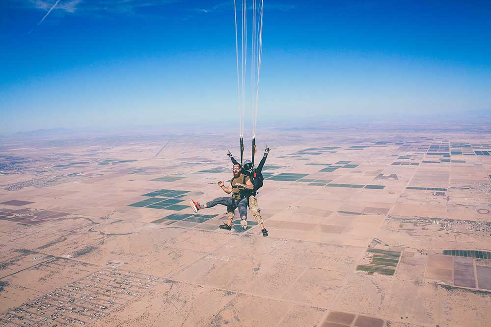 Bungee Jumping and Skydiving Travel Insurance