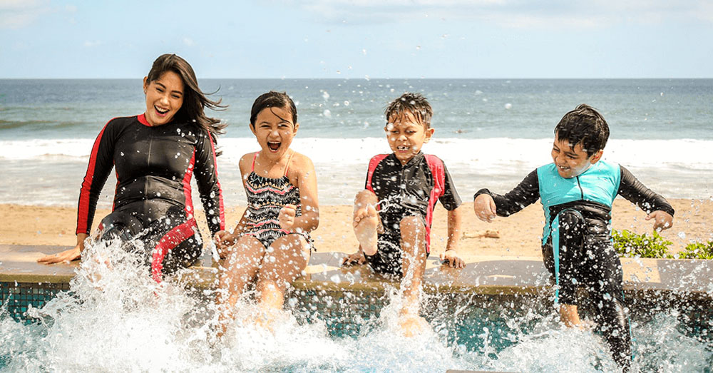 7 Family Holiday Ideas Less Than 7 Hours From Singapore: Surfing | SingSaver