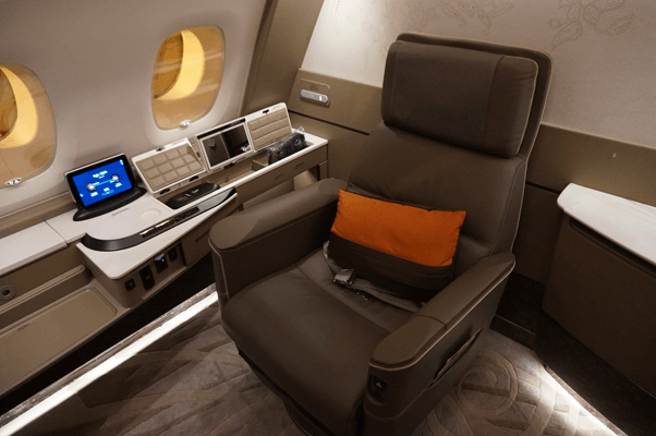 business class seats air miles redemption