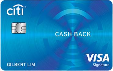 Citibank Cash Back Visa Card - SingSaver