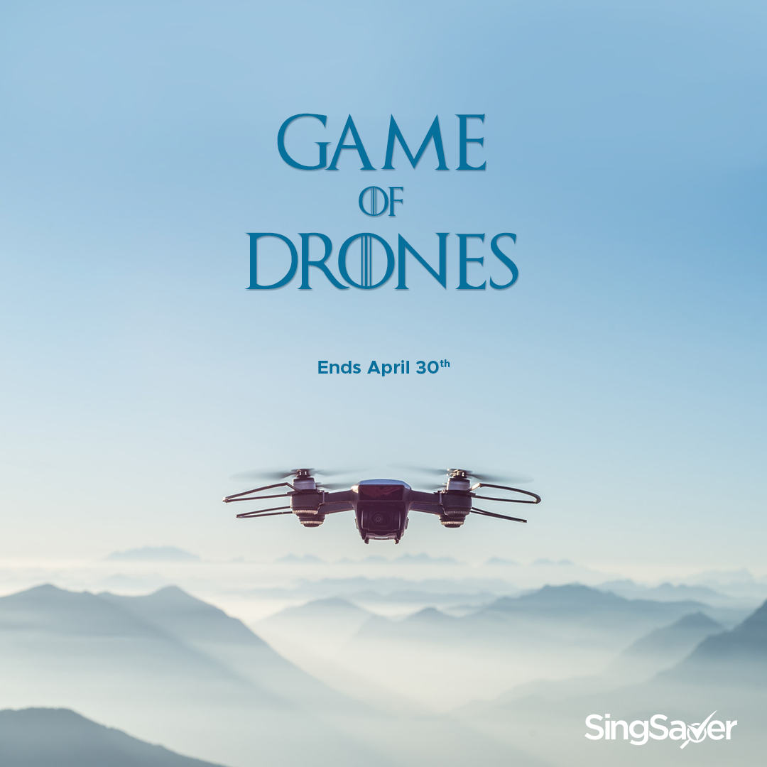 Win a drone by purchasing a travel insurance policy through SingSaver