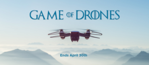 A Game of Drones with SingSaver from 8-30 April