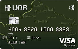 UOB Visa Signature Credit Card