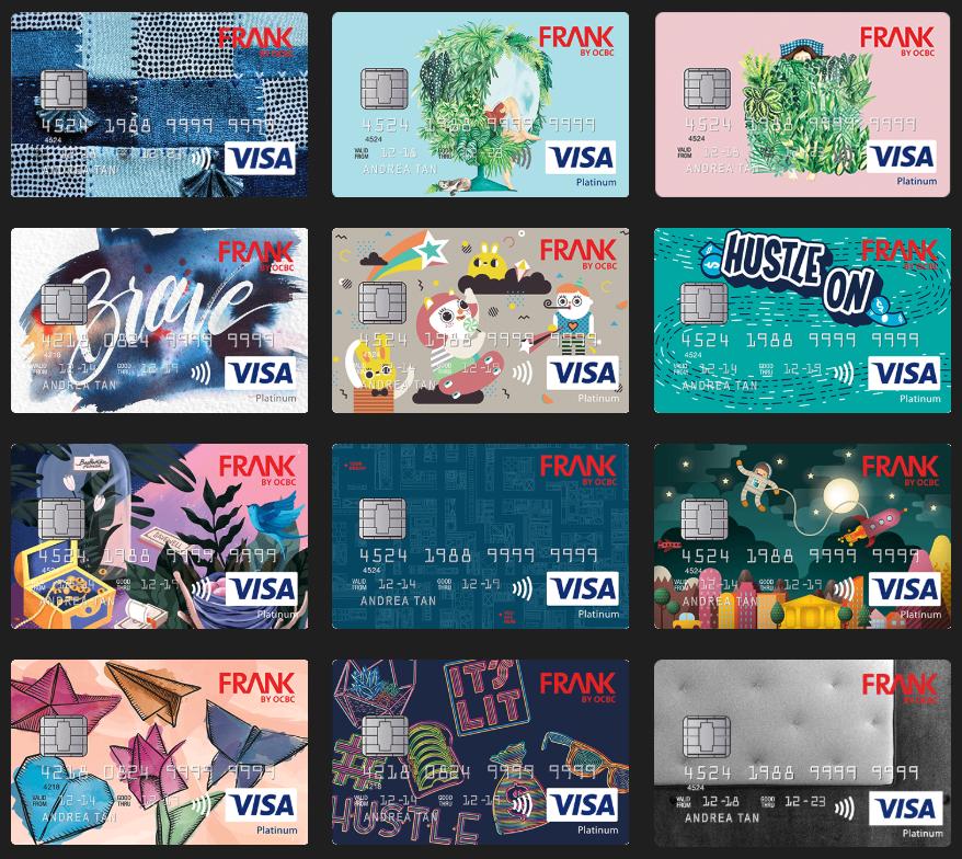 OCBC Frank Credit Card Designs | SingSaver