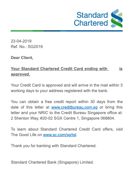 Get Instant Credit Card Approval with Standard Chartered Bank | SingSaver