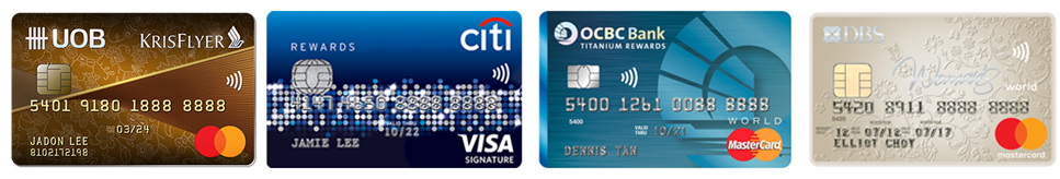 3 Best Credit Cards For Miles: Shopping and Online Spending Card | SingSaver