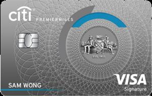 Citi PremierMiles Visa Signature Card