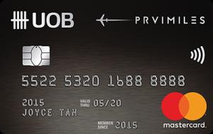 UOB PRVI Miles Mastercard