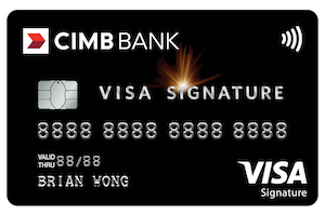 CIMB Bank Visa Signature Card