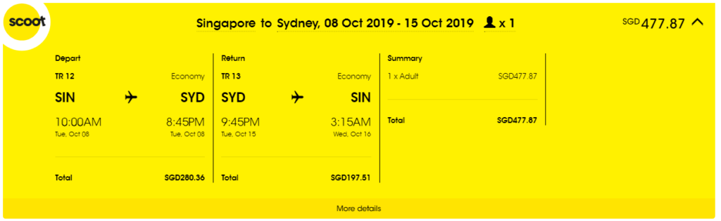 5 Travel Hacking Tips To Get The Most Out Of Flying Scoot   SingSaver
