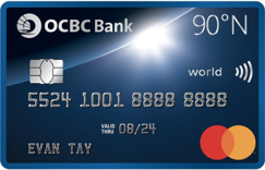 OCBC 90°N Credit Card: Pros and Cons | SingSaver