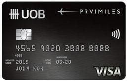UOB PRVI Miles Visa Card