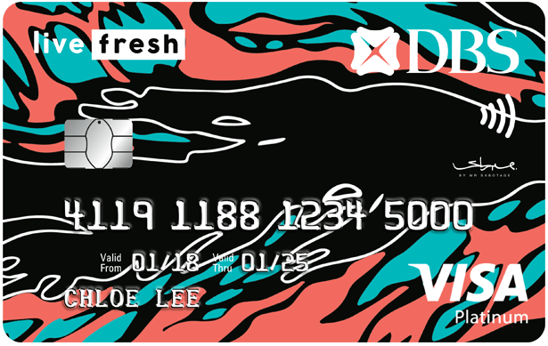 DBS Live Fresh Student Card