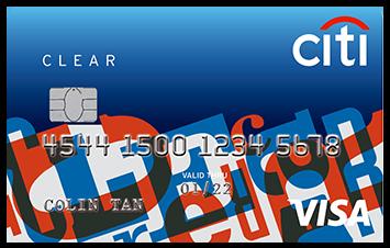 Citibank Clear Card