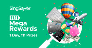 SingSaver's 11.11 Mega Rewards Promotion⁠ — Win $18,000 in cash