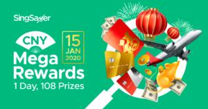 SingSaver's 2020 CNY Mega Rewards Promotion – Win Over $18,000 In Total Cash Prizes