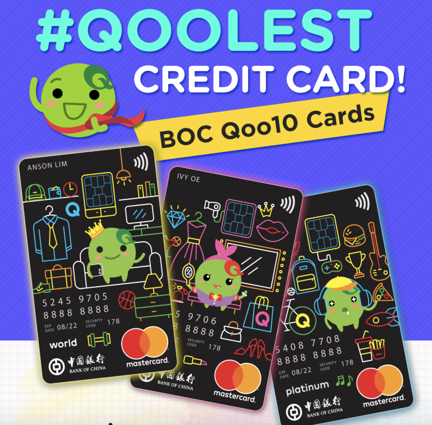Qoo10 Promo Codes for BOC