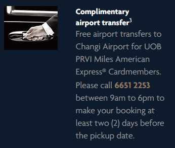 Complimentary Airport Transfer