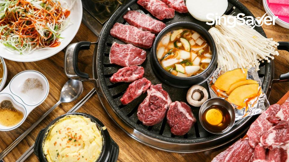 8 Cheap Korean Bbq Buffets In Singapore Starting At 15 2021