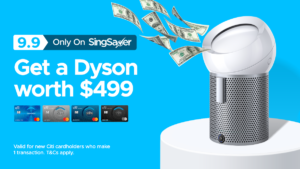 [Promotion Ended]: SingSaver Exclusive Dyson Pure Cool Me™ (Worth $499)!