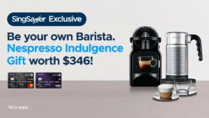 SingSaver Exclusive: Perk Your November Up With Nespresso Gift, Apple Airpods Or $300 Cash!
