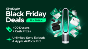 SingSaver Black Friday Deals (26 – 30 Nov): Gear Up For 5 Days Of Celebration