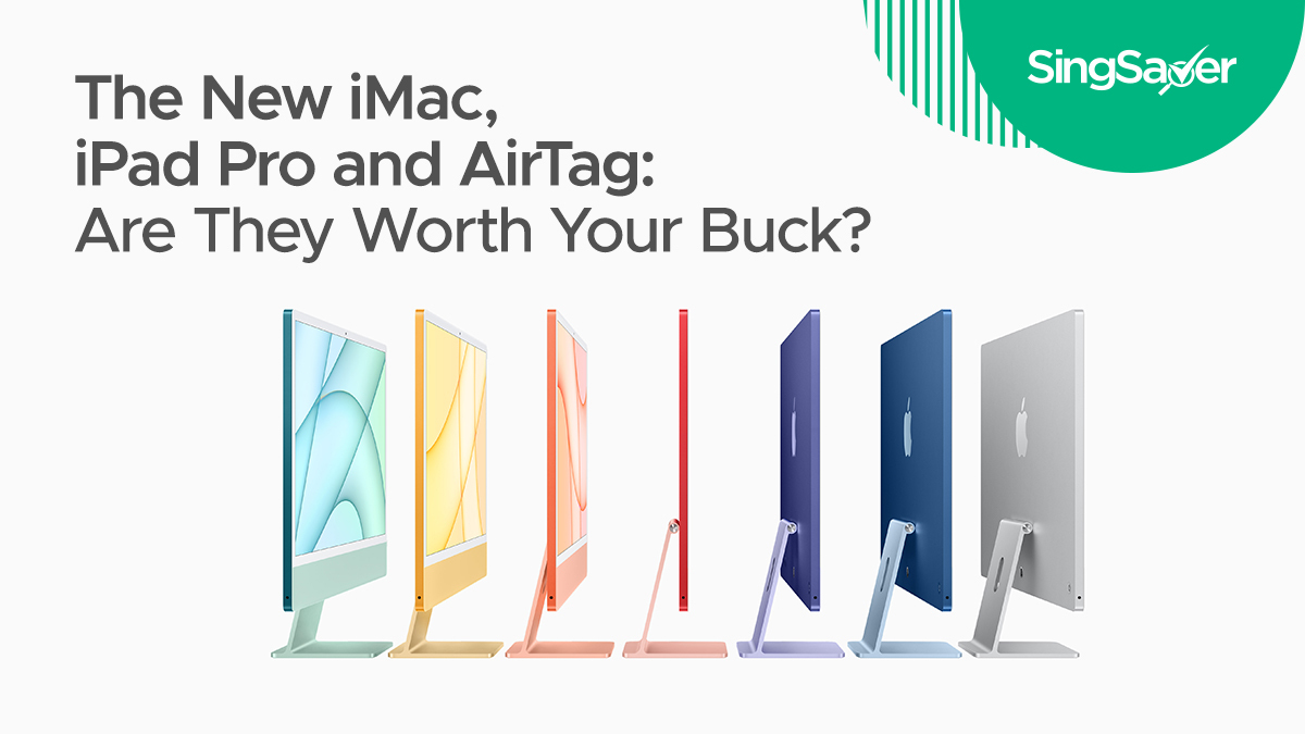The New Apple iMac, iPad Pro, AirTag and TV 4K (2021): Are ...