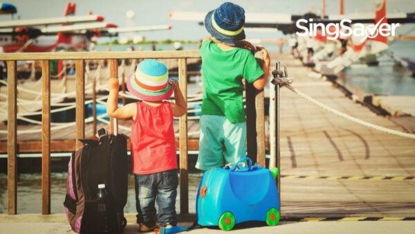 Travelling With Kids? Utilise Their Miles With KrisFlyer For Families